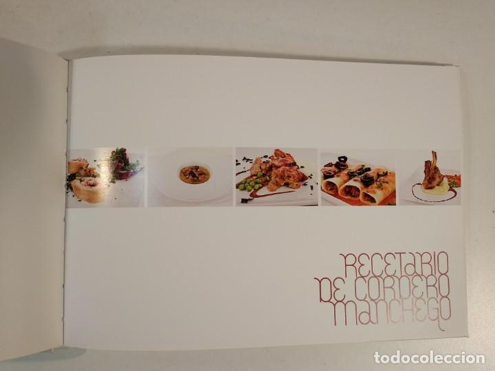 Libros de segunda mano: RECETARIO DE CORDERO MANCHEGO. 1998-2008. 10º ANIVERSARIO CORDERO MANCHEGO. - Foto 3 - 194899226