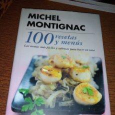 Libros de segunda mano: MICHEL MONTIGNAC 100 RECETAS Y MENUS. Lote 195033032