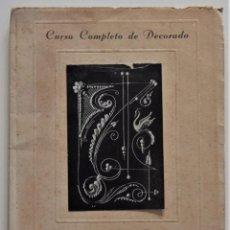 Libros de segunda mano: CURSO COMPLETO DE DECORADO EN LA PASTELERÍA - EJERCICIOS CON EL CARTUCHO - SEBASTIÁN ASTOR - 1948. Lote 195033948