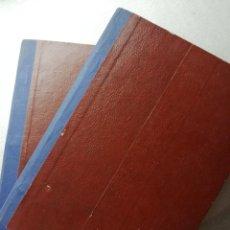 Libros de segunda mano: PRIMER Y SEGUNDO CURSO DE COCINA Y HOGAR POR CORRESPONDENCIA.ACADEMIA AMA DE CASA. BARCELONA. Lote 195041571