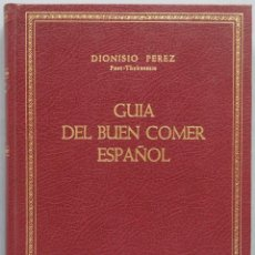 Libros de segunda mano: GUIA DEL BUEN COMER ESPAÑOL. Lote 195041631