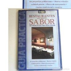 Libros de segunda mano: GUÍA RESTAURANTES CON MUCHO SABOR - DE VIAJES GASTRONOMÍA ESPAÑA - COMER COCINA TRADICIONAL CREATIVA. Lote 195125962