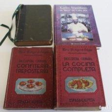 Libros de segunda mano: LIBROS ANTIGUOS DE COCINA. Lote 195414053