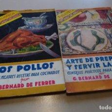 Libros de segunda mano: BIBLIOTECA EL AMA DE CASA ED MOLINO ( 22 NÚMEROS). Lote 195415987