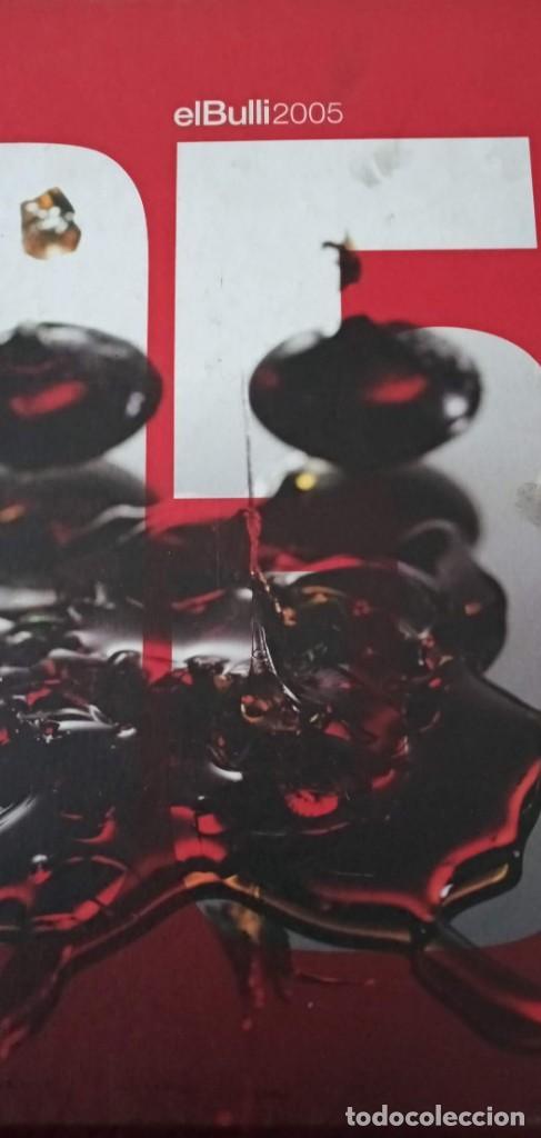 Libros de segunda mano: El Bulli 2005 Ferran Adria En castellano RBA - Foto 2 - 195498255
