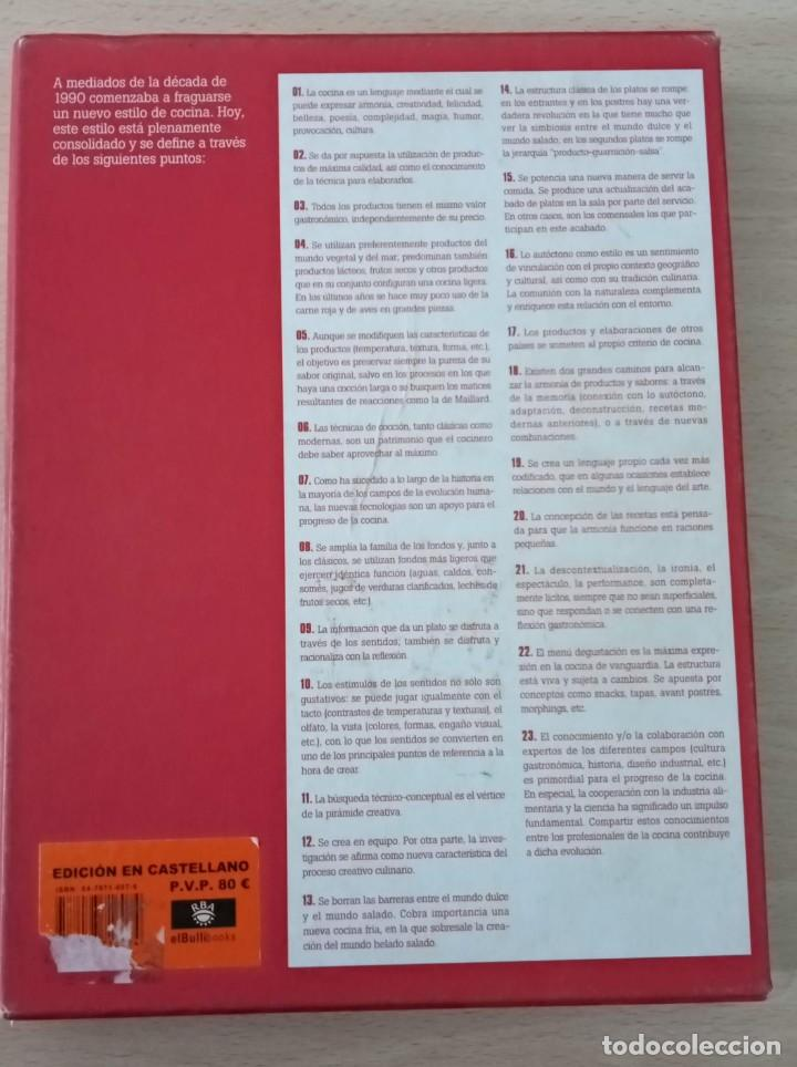 Libros de segunda mano: El Bulli 2005 Ferran Adria En castellano RBA - Foto 4 - 195498255