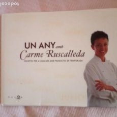 Libros de segunda mano: UN ANY AMB CARME RUSCALLEDA EDIT/ SALSA GRUPO 62,TOTALMENTE ILUSTRAT A TOT COLOR.. Lote 195795228