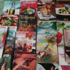 Livres d'occasion: COLECCIÓN 19 LIBROS MI COCINA MADAME FIGARO PARA ¡HOLA!. VER TÍTULOS EN DESCRIPCION.. Lote 195812973