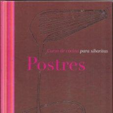 Libros de segunda mano: == AR45 - CURSO DE COCINA PARA SIBARITAS - POSTRES - EDITORIAL EVEREST. Lote 196444992