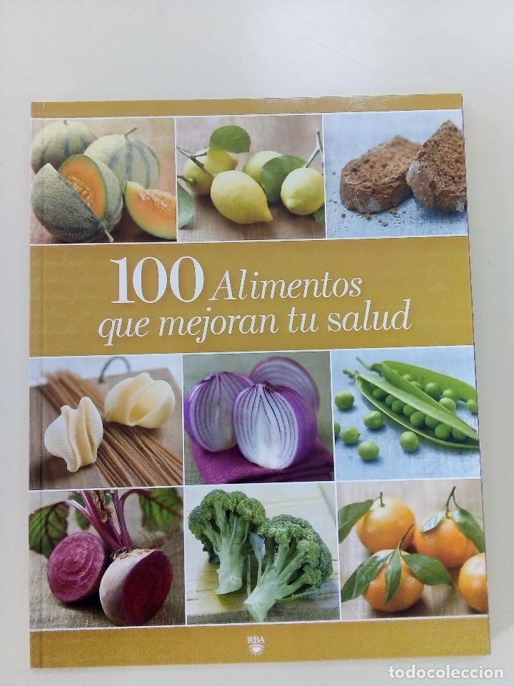 Libros de segunda mano: 100 ALIMENTOS, CONSEJOS, REMEDIOS PARA COCINAR Y MEJORAR LA SALUD-3 VOLS-ED. RBA-2009-como nuevos - Foto 4 - 196527132