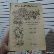 Libros de segunda mano: GUÍA GASTRONÓMICA - DICCIONARIO DE MINUTAS EN NUEVE IDIOMAS - 1974.. Lote 196673797