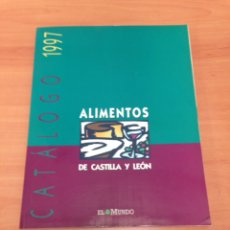 Libros de segunda mano: CATALOGO DE ALIMENTOS. Lote 196939405