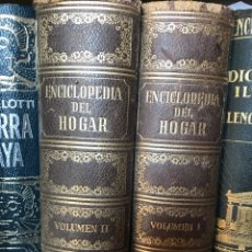 Libros de segunda mano: ENCICLOPEDIA DEL HOGAR ARGOS. Lote 196965266