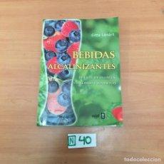Libros de segunda mano: BEBIDAS ALCALINIZANTES. Lote 196966476