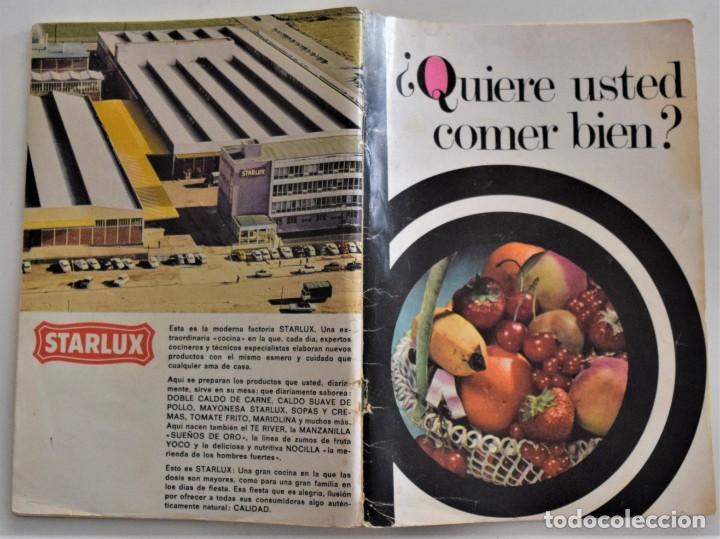 Libros de segunda mano: LOTE 6 PUBLICACIONES EL POZO, NESCAFÉ, STARLUX, ALBAL, MOULINEX Y MEXILLÓN DE GALICIA - RECETAS - Foto 2 - 197652237