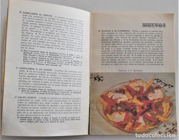 Libros de segunda mano: LOTE 6 PUBLICACIONES EL POZO, NESCAFÉ, STARLUX, ALBAL, MOULINEX Y MEXILLÓN DE GALICIA - RECETAS - Foto 3 - 197652237