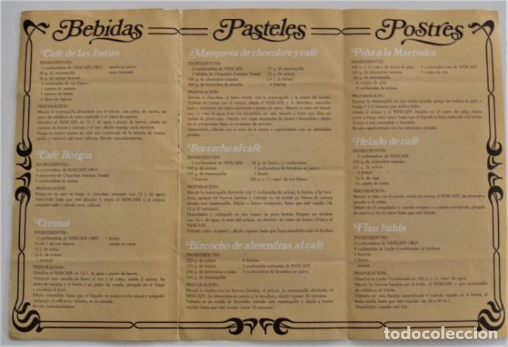 Libros de segunda mano: LOTE 6 PUBLICACIONES EL POZO, NESCAFÉ, STARLUX, ALBAL, MOULINEX Y MEXILLÓN DE GALICIA - RECETAS - Foto 5 - 197652237