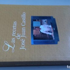 Livres d'occasion: LAS RECETAS DE JOSE JUAN CASTILLO - CASA NICOLASA SAN SEBASTIAN - SAN IGNACIOCON31. Lote 198283681