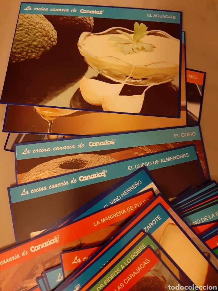 Libros de segunda mano: Coleccionable 100 fichas La Cocina Canarias. 1.992. (Canarias 7) - Foto 5 - 198372211
