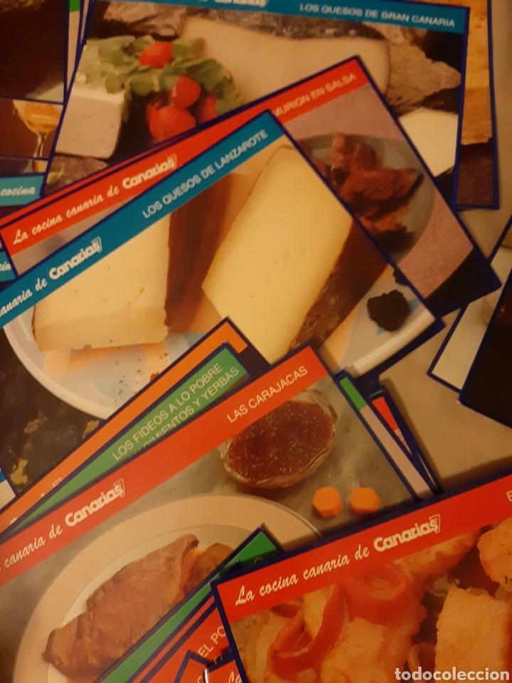 Libros de segunda mano: Coleccionable 100 fichas La Cocina Canarias. 1.992. (Canarias 7) - Foto 6 - 198372211