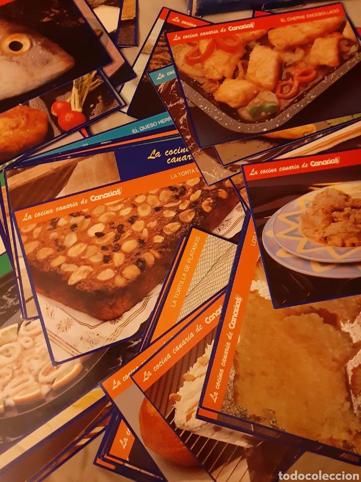Libros de segunda mano: Coleccionable 100 fichas La Cocina Canarias. 1.992. (Canarias 7) - Foto 7 - 198372211