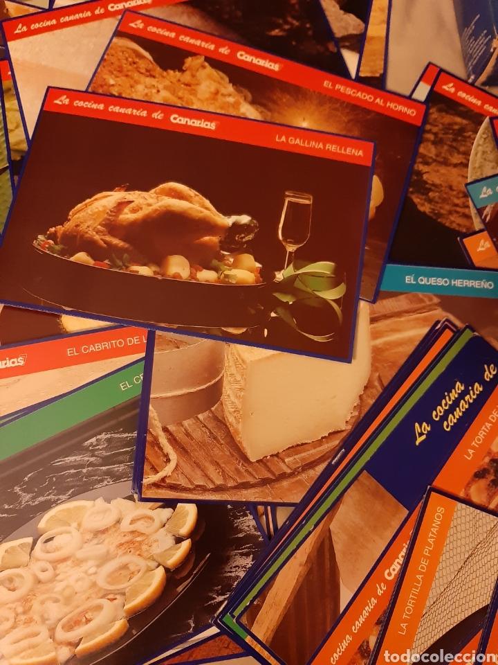 Libros de segunda mano: Coleccionable 100 fichas La Cocina Canarias. 1.992. (Canarias 7) - Foto 8 - 198372211