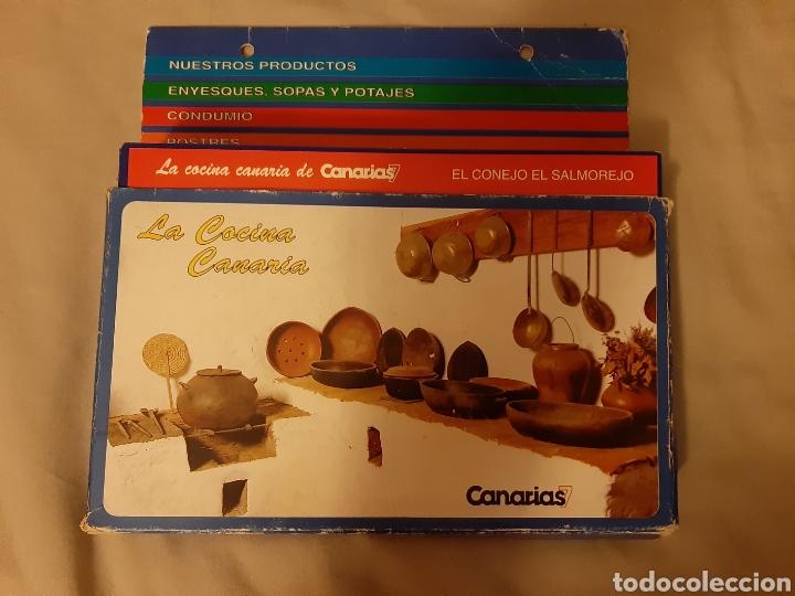 COLECCIONABLE 100 FICHAS LA COCINA CANARIAS. 1.992. (CANARIAS 7) (Libros de Segunda Mano - Cocina y Gastronomía)