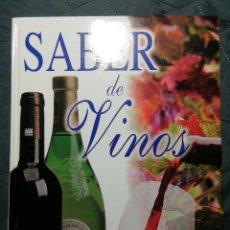 Libros de segunda mano: SABER DE VINOS. CONCHA BAEZA. Lote 198380691
