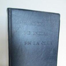 Libros de segunda mano: CARTAGENA DE INDIAS EN LA OLLA. TERESITA ROMAN DE ZUREK. DEDICADO POR LA AUTORA. COCINA. 1978. Lote 199130906