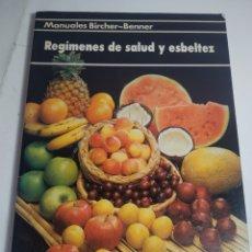 Libros de segunda mano: LIBRO DE RECETAS EN REGÍMENES DE SALUD Y ESBELTEZ - BIRCHER BENNER. Lote 199479440