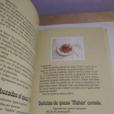 Libros de segunda mano: EL QUESO EN LA COCINA MAHÓN MENORCA. Lote 199479941
