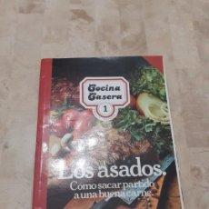 Libros de segunda mano: COCINA CASERA 1 DE SUSAETA EDICIONES LOS ASADOS. Lote 199554582