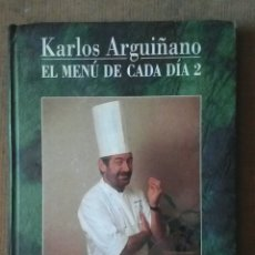 Libros de segunda mano: LIBRO DE COCINA DE CARLOS ARGUIÑANO. Lote 199899807