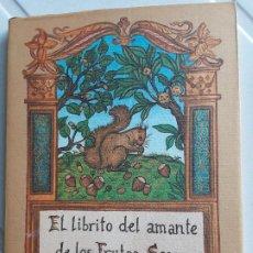Libros de segunda mano: EL LIBRITO DEL AMANTE DE LOS FRUTOS SECOS. R. RICHARDSON.EL CUERNO DE LA ABUNDANCIA. ED.J.J.OLAÑETA. Lote 200170648