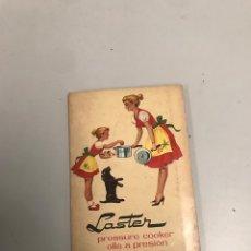 Libros de segunda mano: LASTER. Lote 201276591