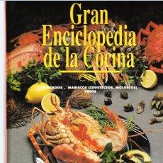 Libros de segunda mano: GRAN ENCICLOPEDIA DE LA COCINA, ABC-PRENSA ESPAÑOLA. 1994. 2 TOMOS. Lote 202253736
