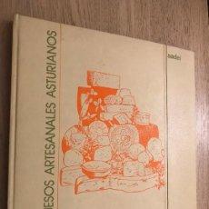 Libros de segunda mano: LOS QUESOS ARTESANALES ASTURIANOS / SADEI. Lote 202373718