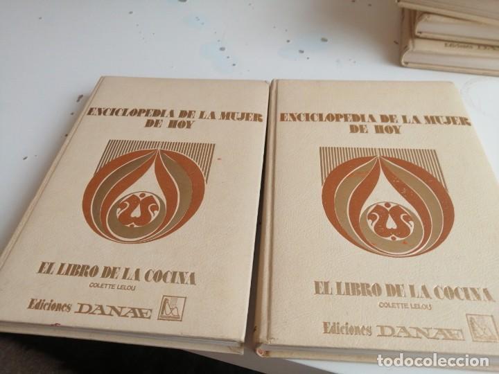 G-45 ENCICLOPEDIA DE LA MUJER DE HOY EL LIBRO DE LA COCINA 2 TOMOS (Libros de Segunda Mano - Cocina y Gastronomía)