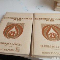 Libros de segunda mano: G-45 ENCICLOPEDIA DE LA MUJER DE HOY EL LIBRO DE LA COCINA 2 TOMOS. Lote 202892932