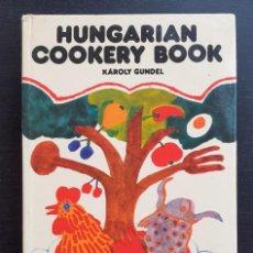 Libros de segunda mano: AÑO 1965 - LIBRO DE COCINA HÚNGARA - ESPECIALIDADES DE HUNGRÍA - GASTRONOMÍA - LÁMINAS - BUDAPEST. Lote 203940543