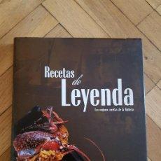 Libros de segunda mano: MIKEL CORCUERA. RECETAS DE LEYENDA. LAS MEJORES RECETAS DE LA HISTORIA. ED. BAINET, 2004 1A EDICIÓN. Lote 204455101