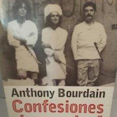 Libros de segunda mano: CONFESIONES DE UN CHEF. AVENTURAS EN EL TRASFONDO DE LA COCINA.. Lote 204546136