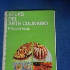 Libros de segunda mano: ATLAS DEL ARTE CULINARIO, ED. JOVER - , MUY ILUSTRADO , VER FOTOS. Lote 204696637