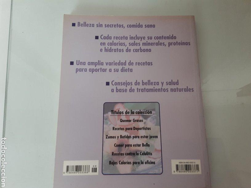 Libros de segunda mano: Comer bien para estar bella - Foto 2 - 204815583