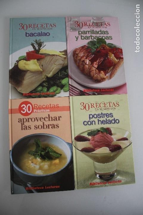 4 LIBROS DE COCINA (Libros de Segunda Mano - Cocina y Gastronomía)