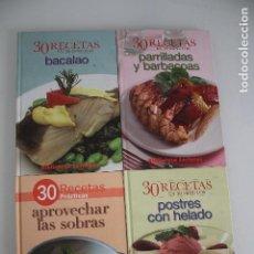 Libros de segunda mano: 4 LIBROS DE COCINA. Lote 205450510