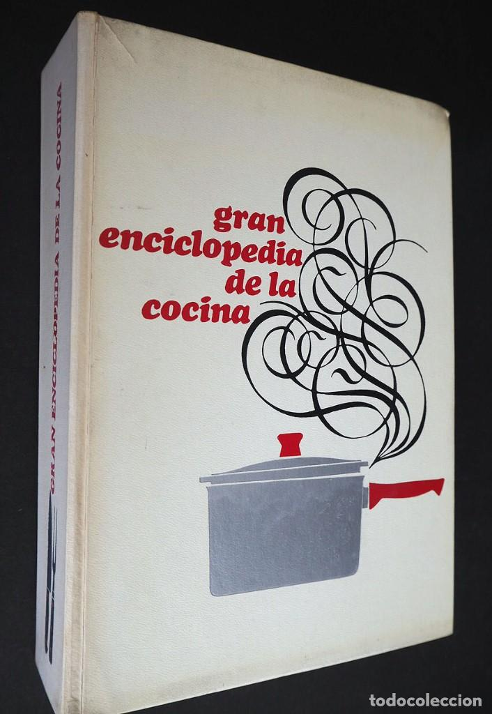 GRAN ENCICLOPEDIA DE LA COCINA. CIRCULO DE LECTORES. EDICIONES NAUTA. 1969. (Libros de Segunda Mano - Cocina y Gastronomía)