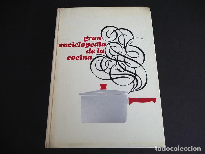 Libros de segunda mano: GRAN ENCICLOPEDIA DE LA COCINA. CIRCULO DE LECTORES. EDICIONES NAUTA. 1969. - Foto 2 - 205660657