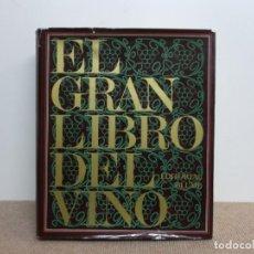 Libros de segunda mano: EL GRAN LIBRO DEL VINO. Lote 206276415