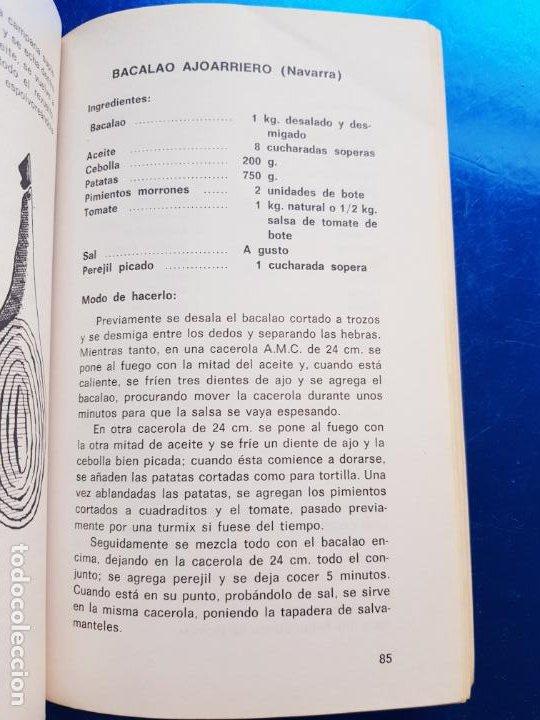 Libros de segunda mano: LIBRO-COCINA SANA Y SENCILLA EN AMC-RAFAEL RODRIGUEZ-ARTES GRÁFICAS-1977 - Foto 9 - 206291591